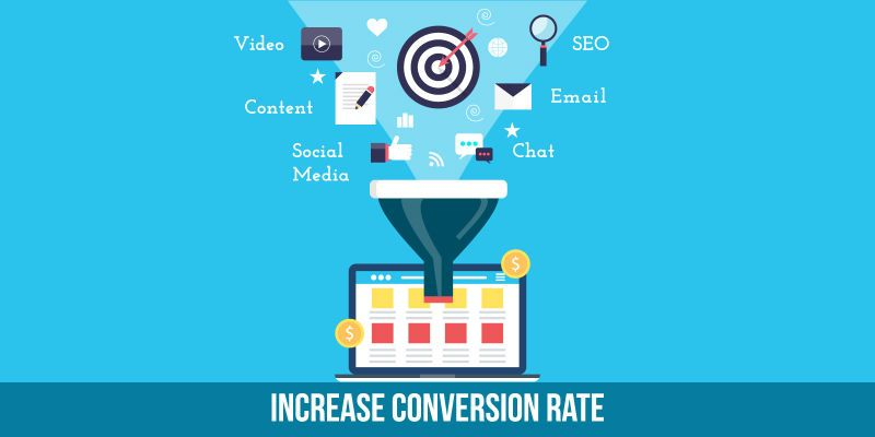 Increasing website conversion